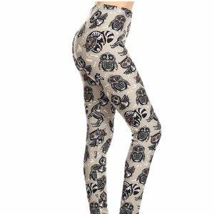 Pants - Animal Skull Leggings